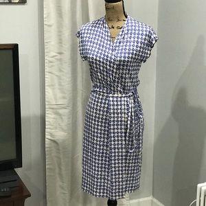 Diane Von Furstenberg Mindy silk wrap dress size 6